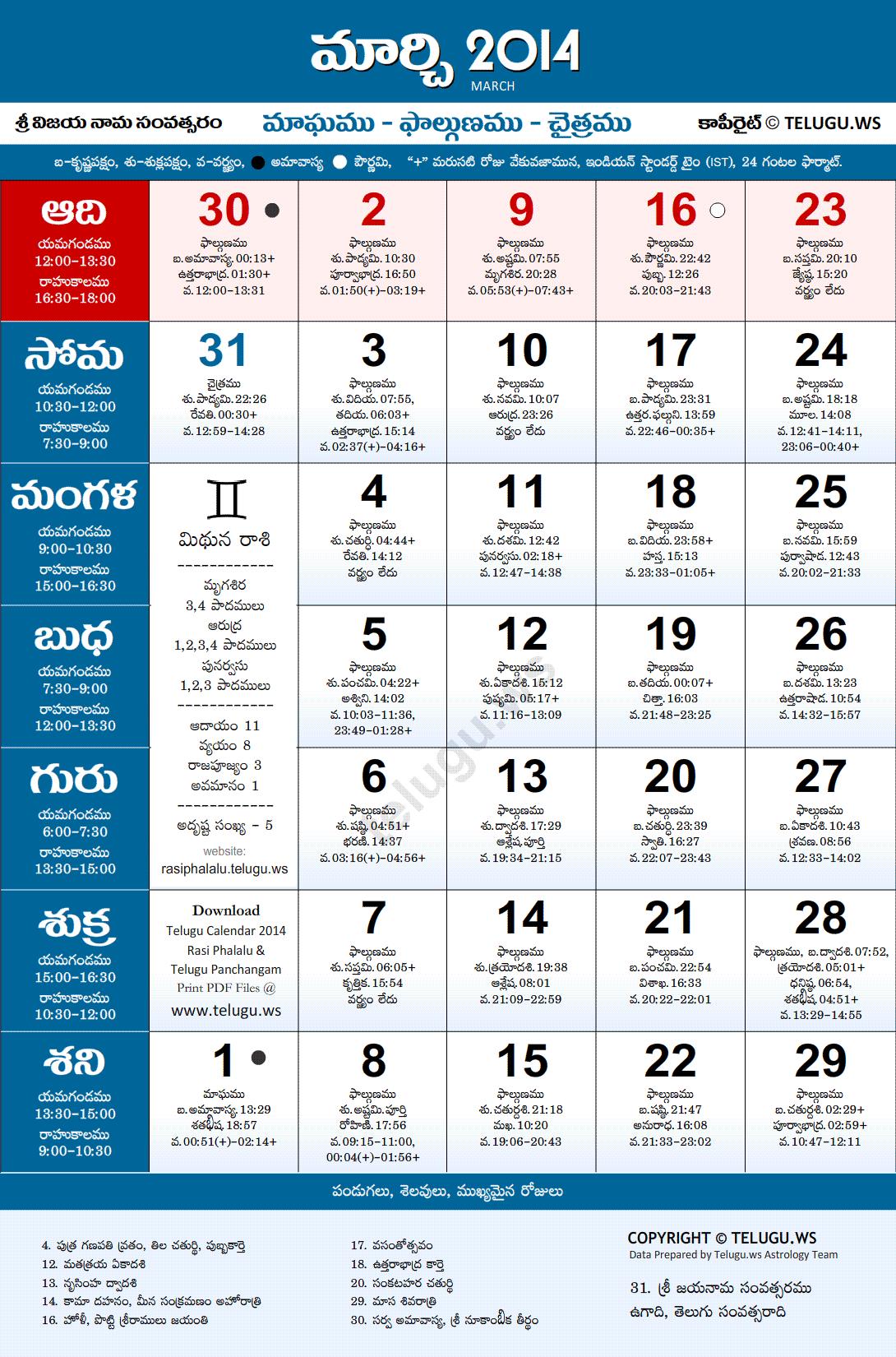 Andhra pradesh | telugu calendars 2015 june.